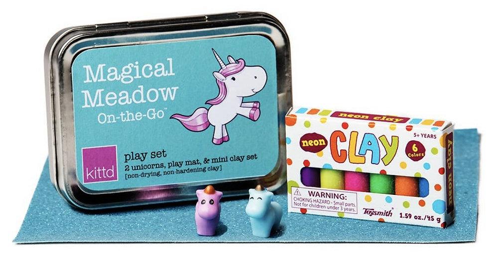 Games | Creativity Kit • Unicorn Modeling Magic Clay