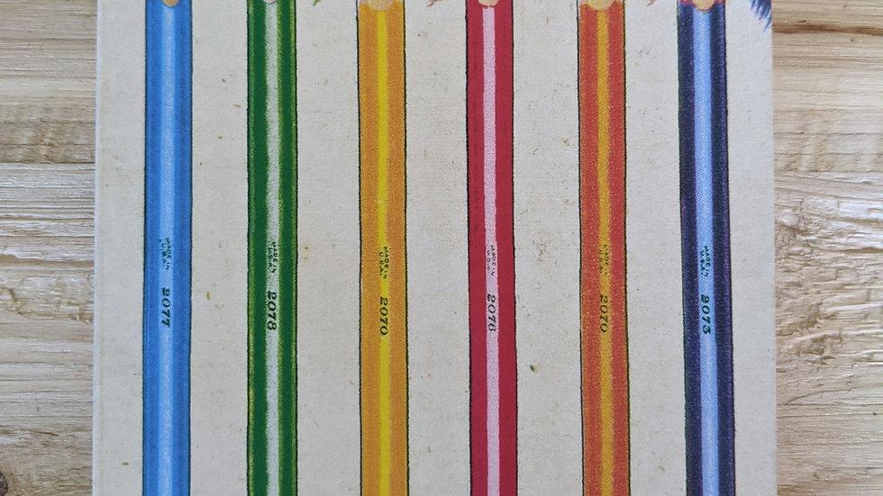 Mini Notebook • Colorwheel Grid Paper