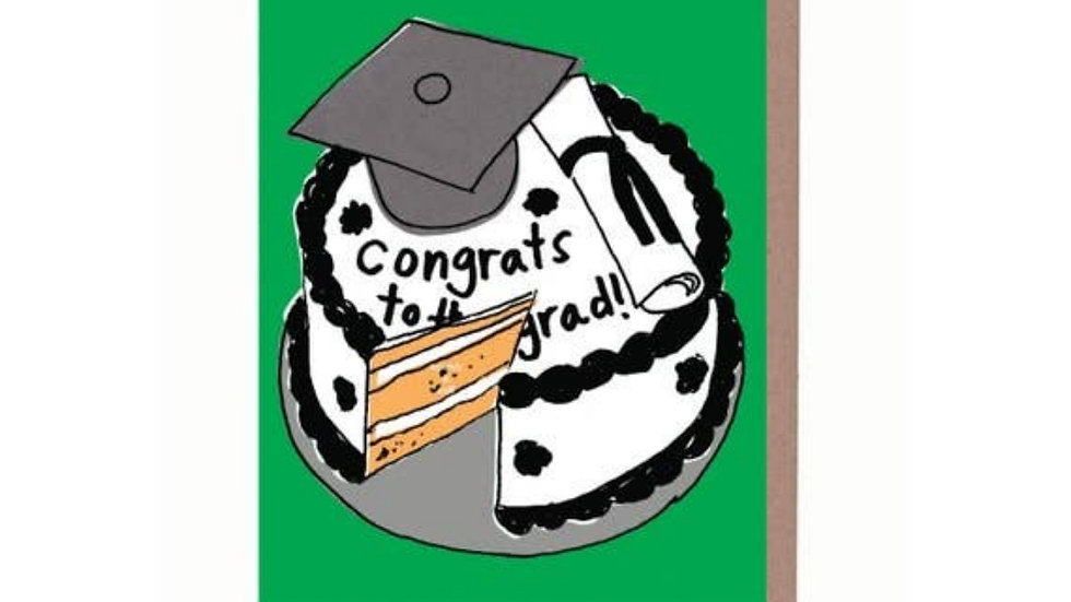 Graduation Card | Scratch and Sniff Cake