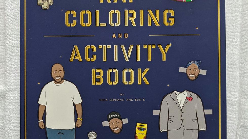 Books | Bun B's Rap Coloring and Activity Book
