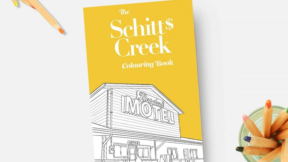 Books   Schitt's Creek Coloring Booklet