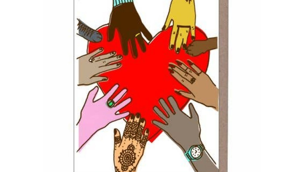 Greeting Card | Any Occasion • Peace & Hands