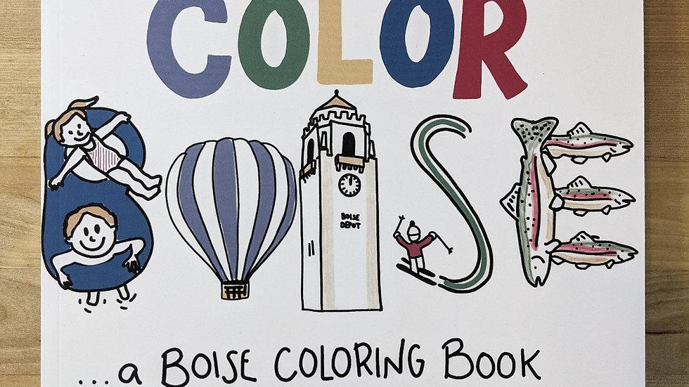 Color Boise | Boutique Coloring Book