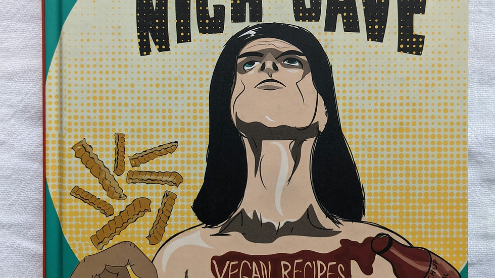 Books   Comfort Eating with Nick Cave (a Vegan Cookbook)