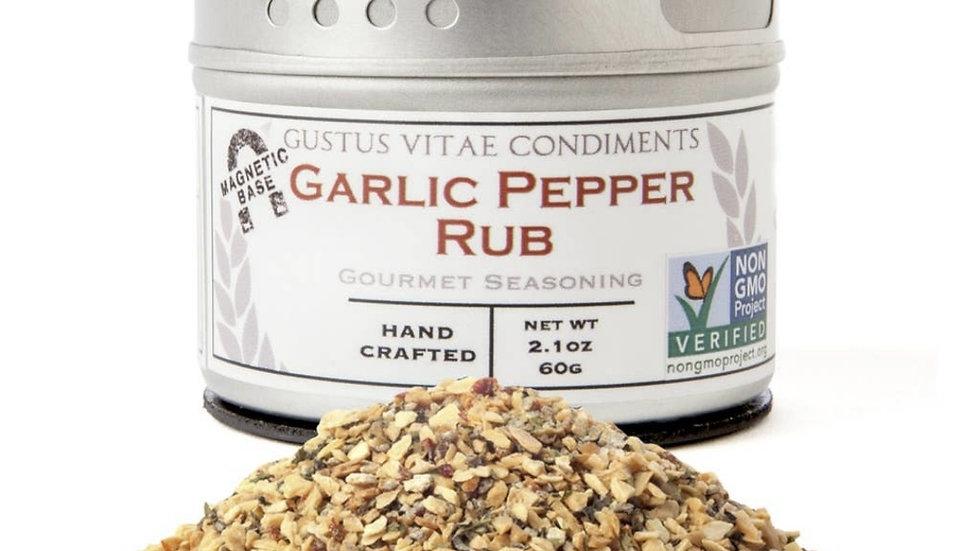 Seasoning | Garlic Pepper Rub