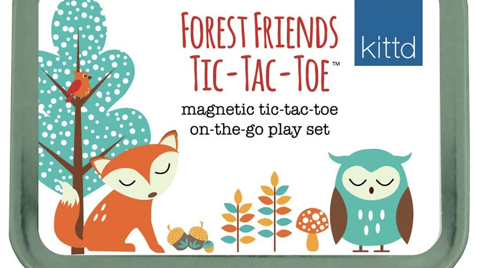 Games   Forest Friends Tic Tac Toe On-the-Go