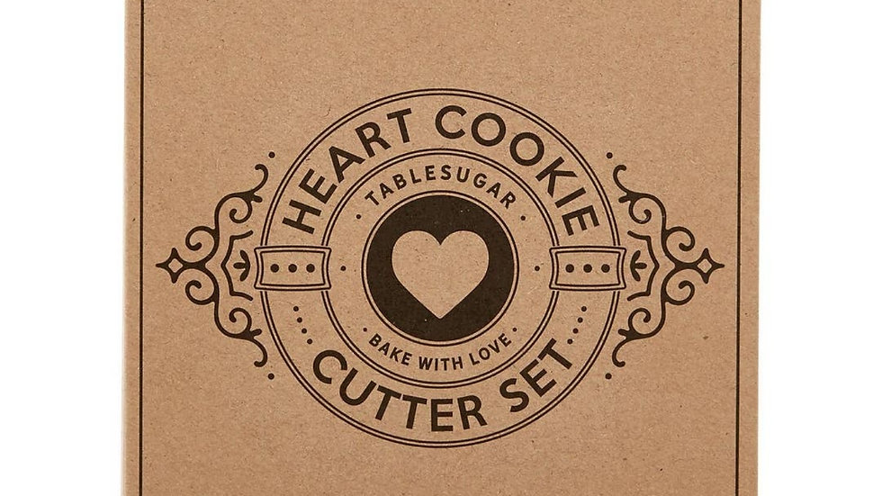 Heart Cookie Cutters Gift Book