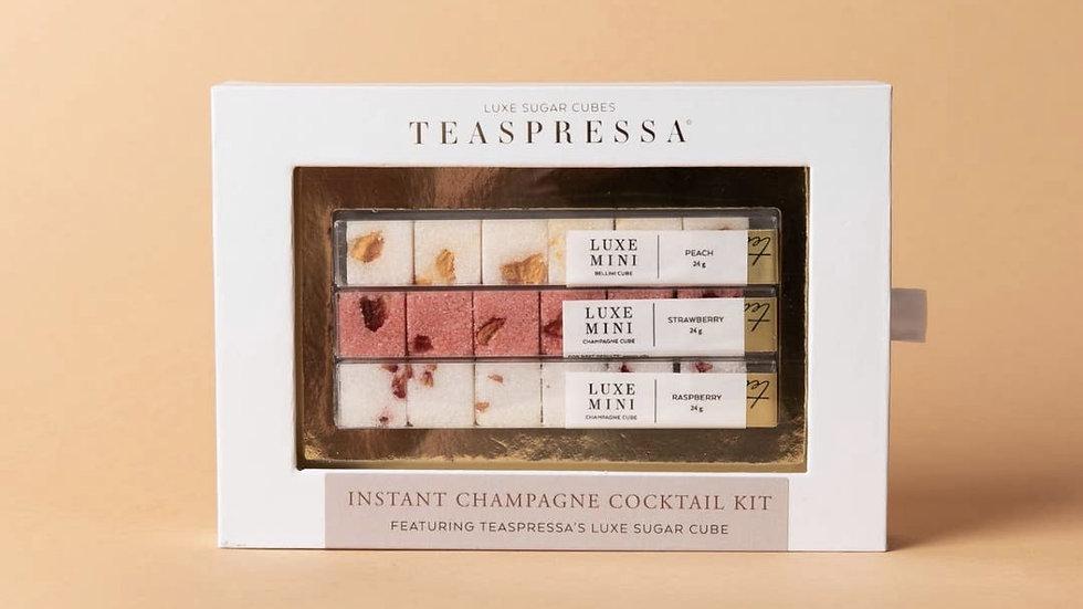 Instant Champagne Luxe Sugar Kit by Teaspressa
