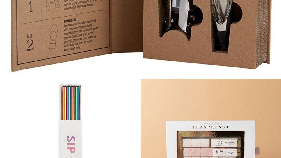 Cocktail Gift Set | Mimosa + Rainbow