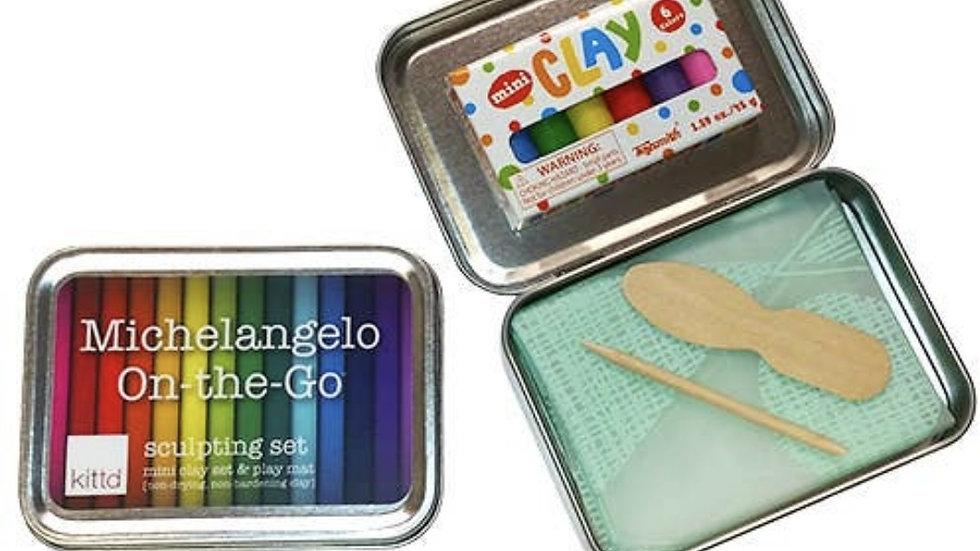 Games | Creativity Kit • Michelangelo Artist Modeling Magic Clay