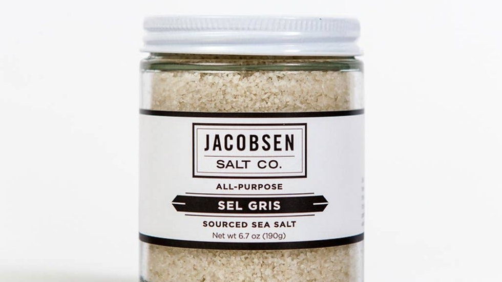 French Sel Gris Sourced Salt by Jacobsen Salt Co.