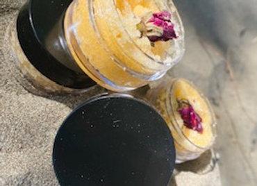 Rose Gold lip scrub