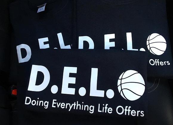 The D.E.L.O Foundation shirt