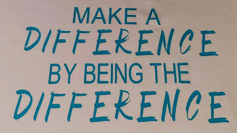 Make a DIFFERENCE shirt