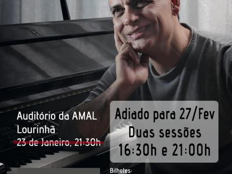 "Concertos ""Improvisos"" na AMAL - Adiados"