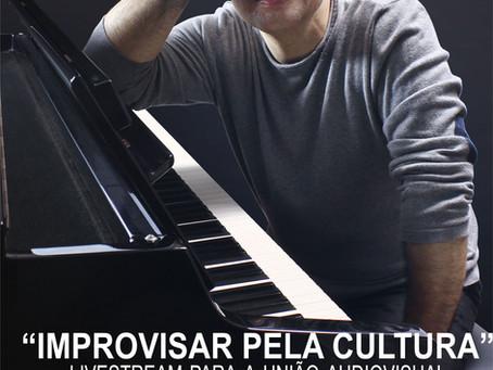 """""""Improvisar pela Cultura"""" - 13/12/2020, 15:30"""