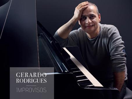 """Terminado a produção do Álbum """"Improvisos"""" de Gerardo Rodrigues"""