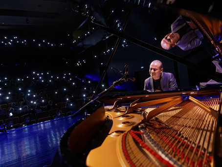 Concerto no Grande Auditório do Centro Cultural e de Congressos das Caldas da Raínha.
