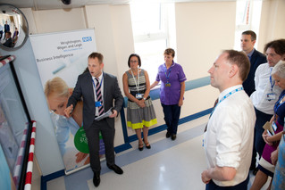 Simon Stevens, CEO of NHS England Comes to Visit