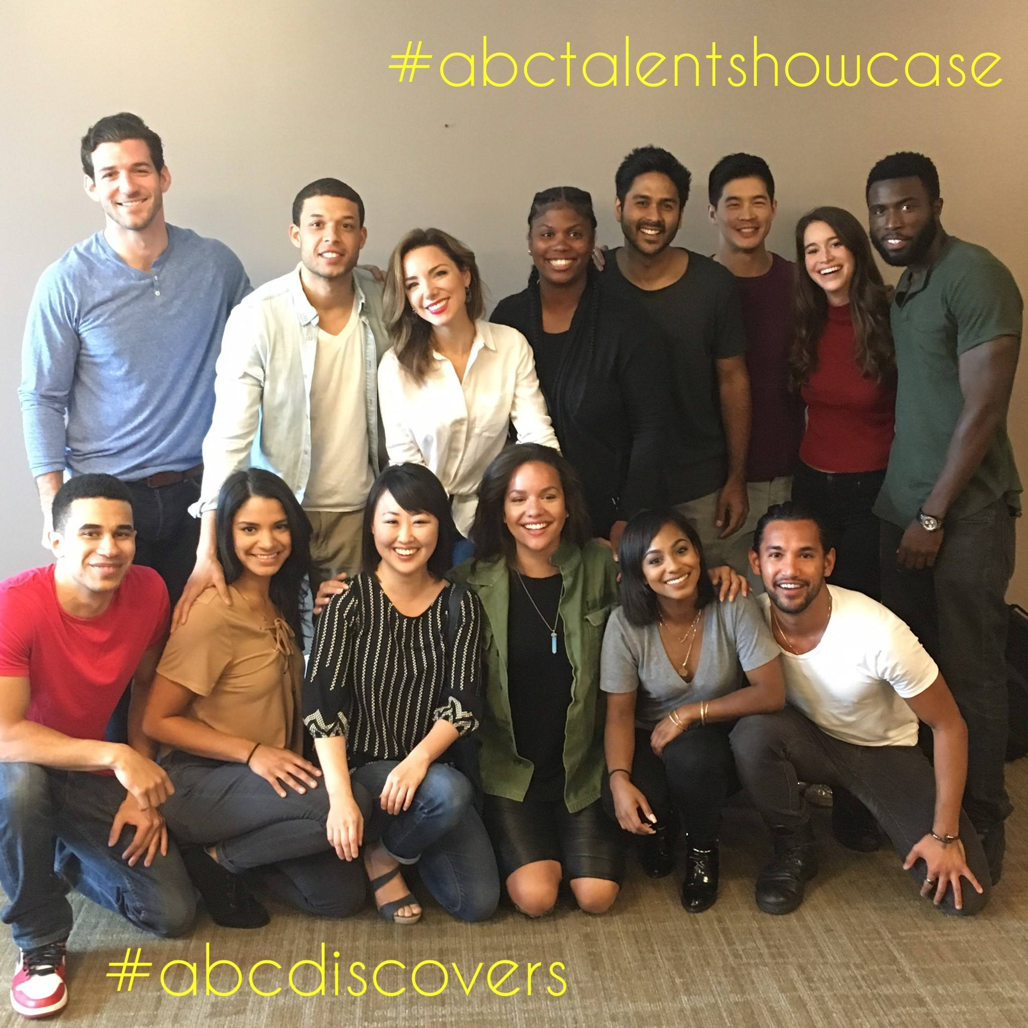 Casey King and cast of 2016 ABC Discovers Talent Showcase