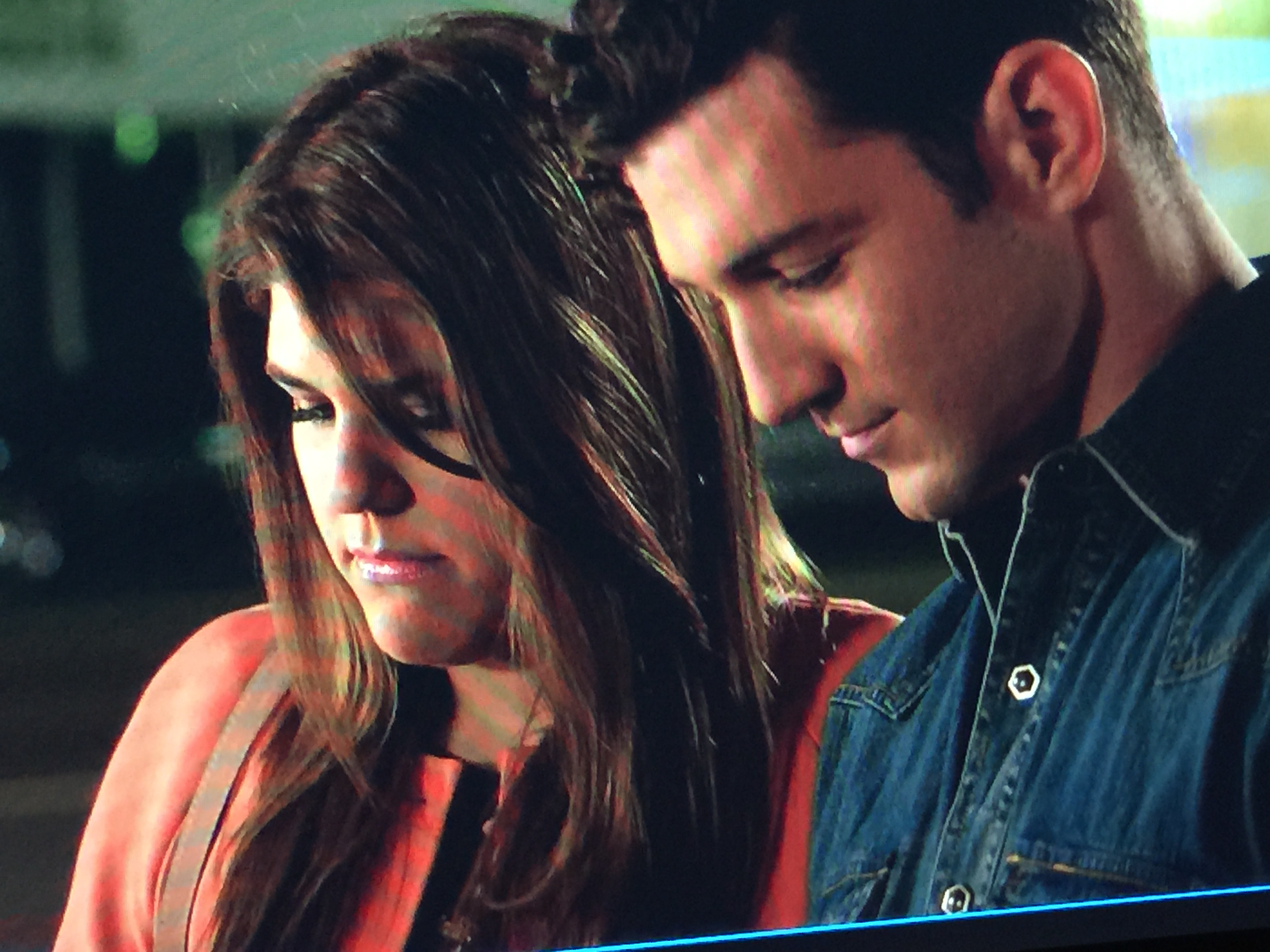 Casey King and Molly Tarlov in Awkward