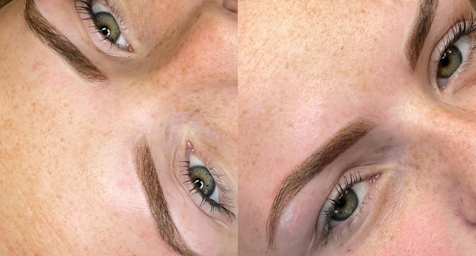 Permanente make-up behandeling (Powder Brows)