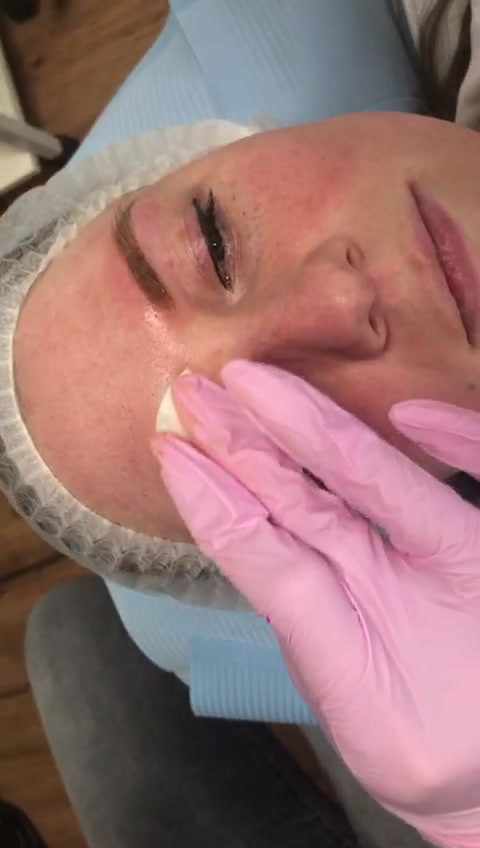 Permanente make-up behandeling