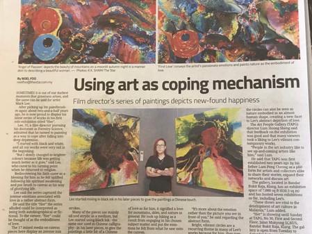 Using art as coping mechanism