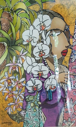 Orchid Lady