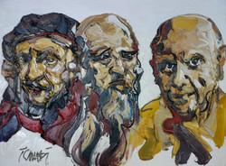 Rembrandt, Leonardo, Picasso