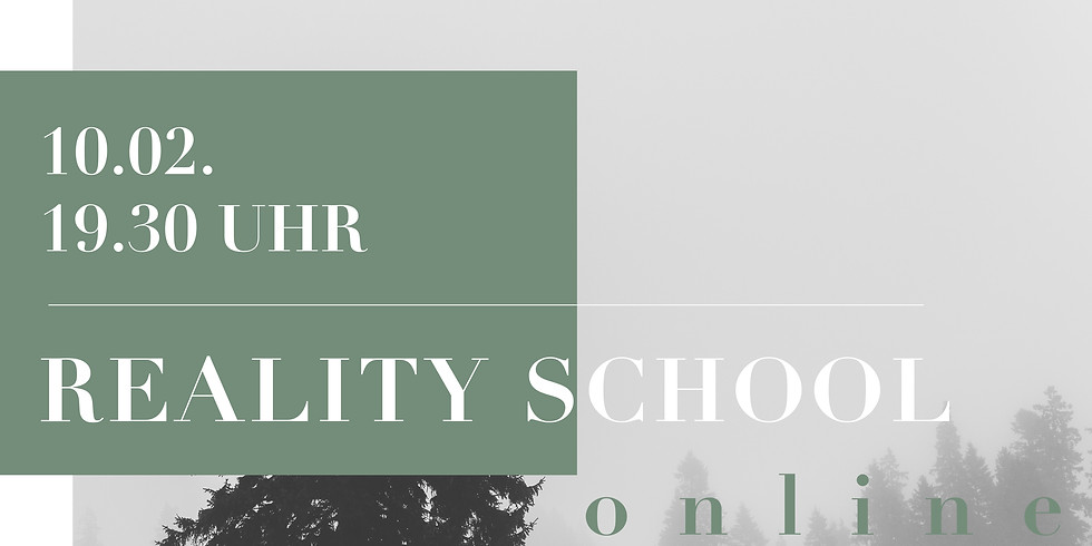 Martin Spreer REALITY SCHOOL