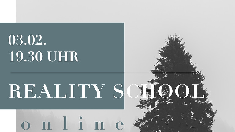 Heike Spreer REALITY SCHOOL  PROPHETIE