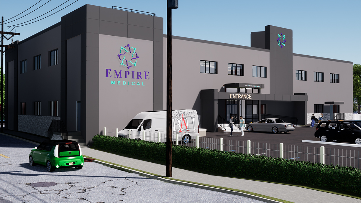 Empire medical exterior