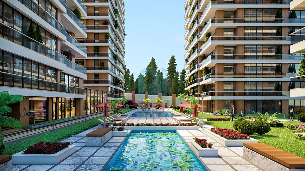 Villas and apartments for sale in bursa city center in a great modern compound