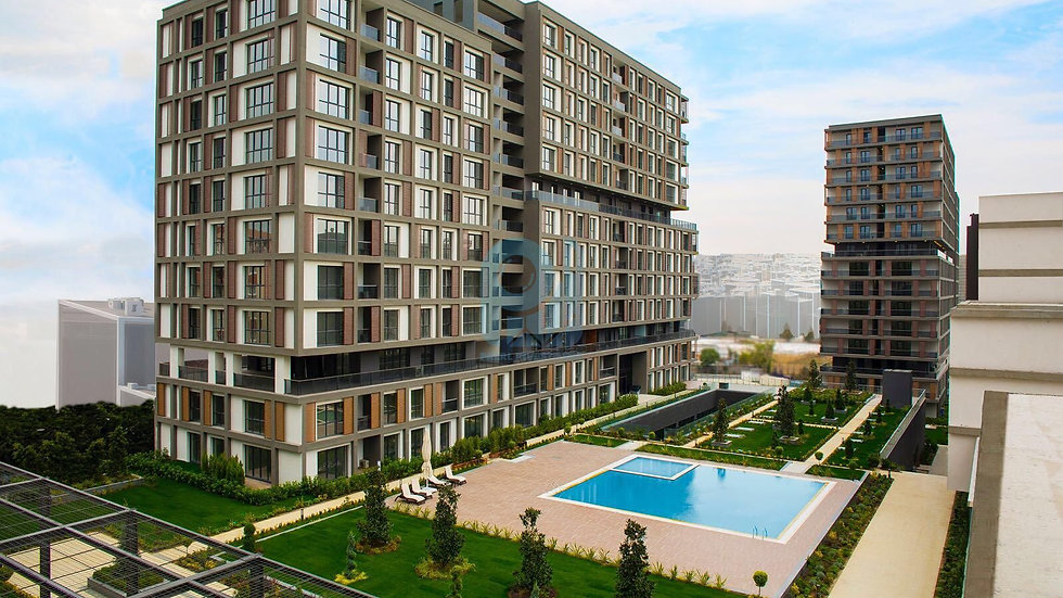 Offices and apartments for sale in Basin express Istanbul investment opportunity