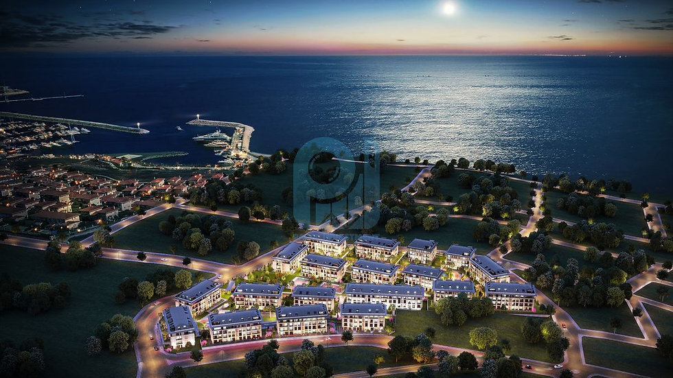 Sea view apartments for sale in Istanbul and Duplexes
