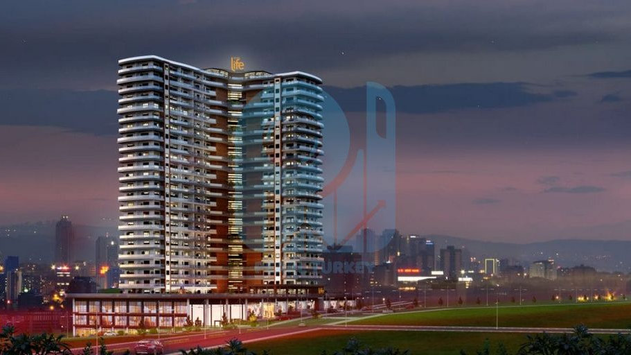 Ready to move apartments in New modern project in Istanbul