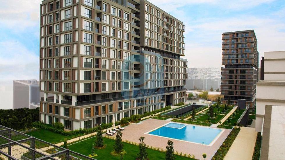 مكاتب وشقق للبيع في الباسن اكسبرس اسطنبول بمجمع كامل الخدمات السكنية والتجارية