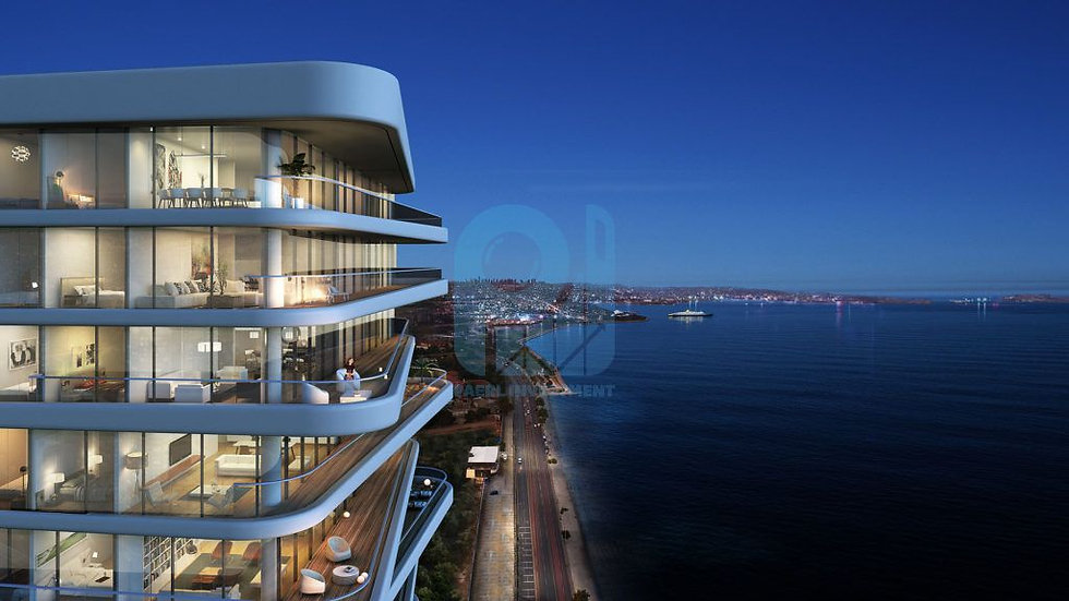High luxurious apartments for sale in center of Istanbul