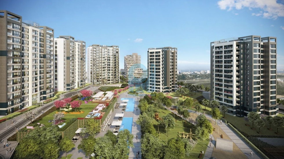 Full facilitates compound offers apartments in Istanbul good investment