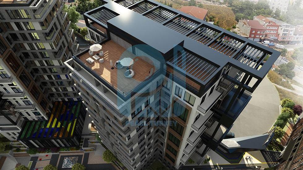 مشروع مجمع سكني في وسط اسطنبول شقق استثمارية و سكنية