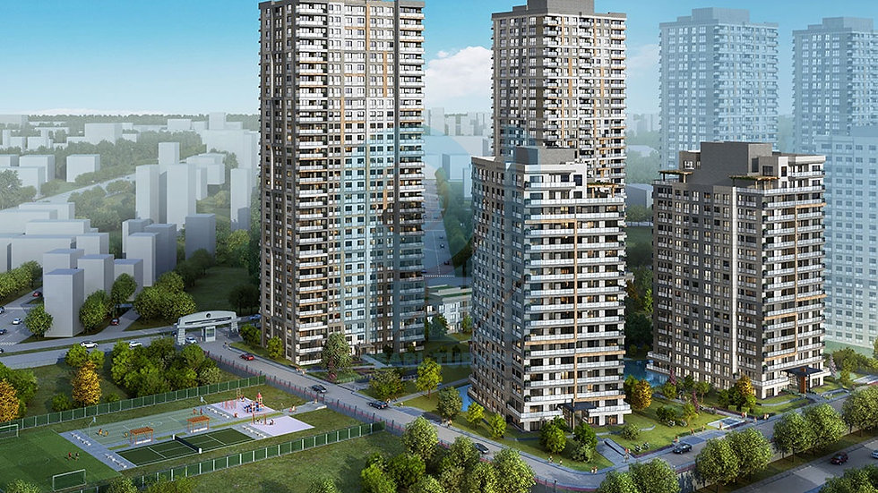Modern project in the best area of the Asian side of Istanbul