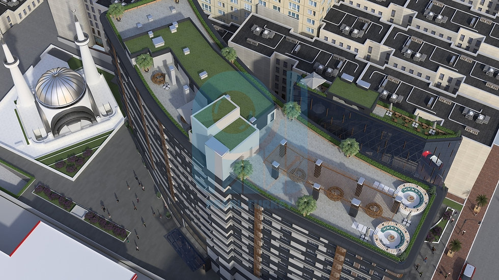 Great apartments for sale in new project in Istanbul center