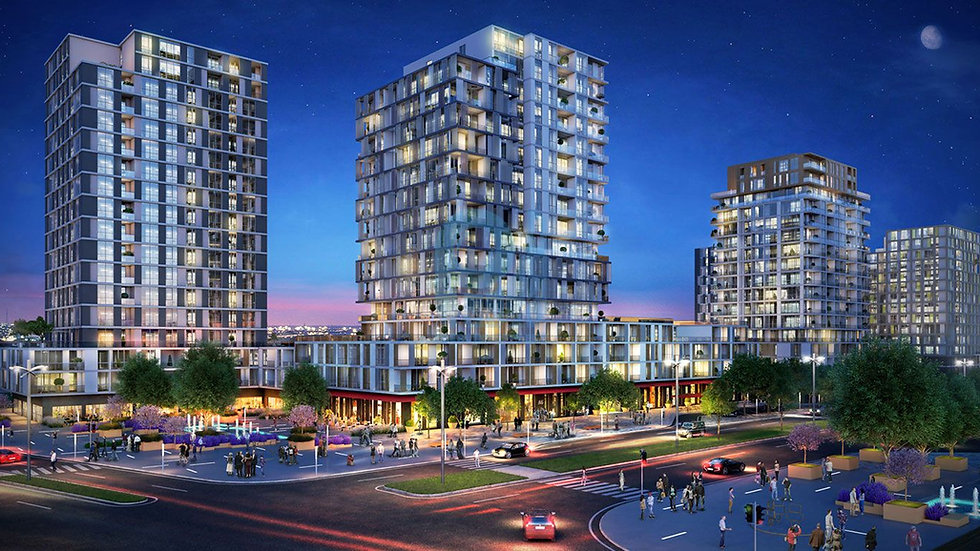 Investment project in Istanbul apartments to buy near the  Metro station