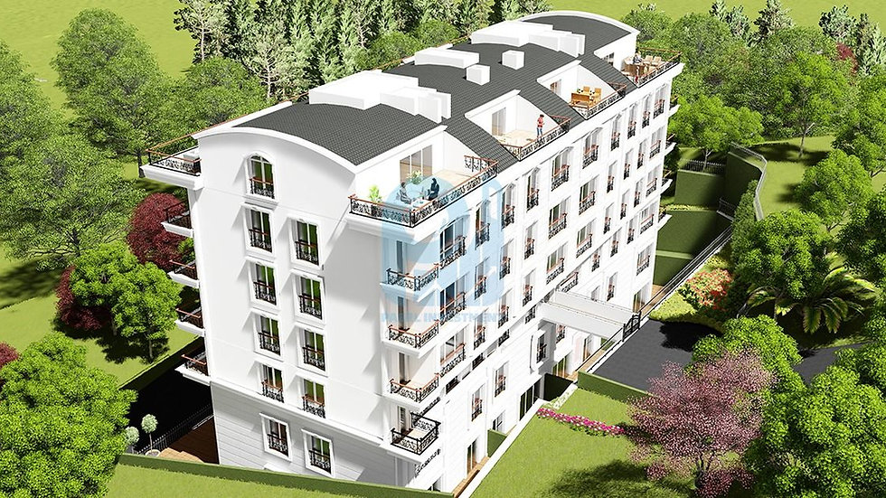 Ready Apartments for sale in Yalova Termal with stunning natural views