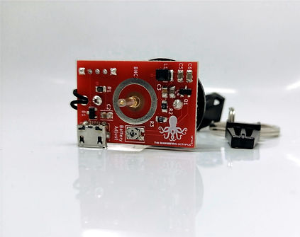 Oscilloscope Keyring Tester