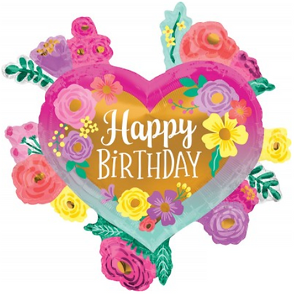 Large Happy Birthday Balloon