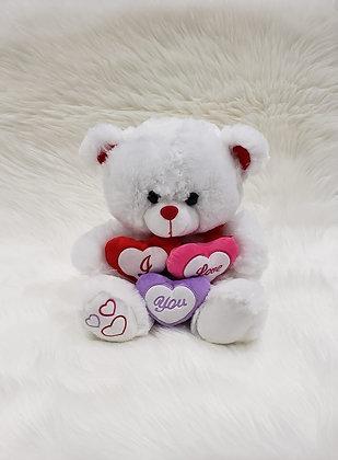 """13"""" tall Teddy Bear - I Love You"""