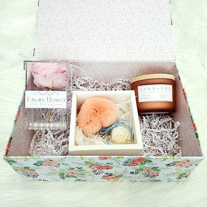 Floral Print Gift Box - XL Rose