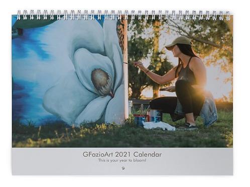 2021 Classic GFazioArt Calendar